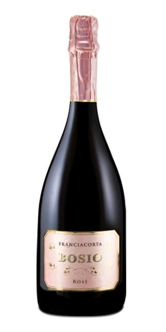 vendita vini on line Franciacorta brut Rosé 2014 Bosio - Wine il vino