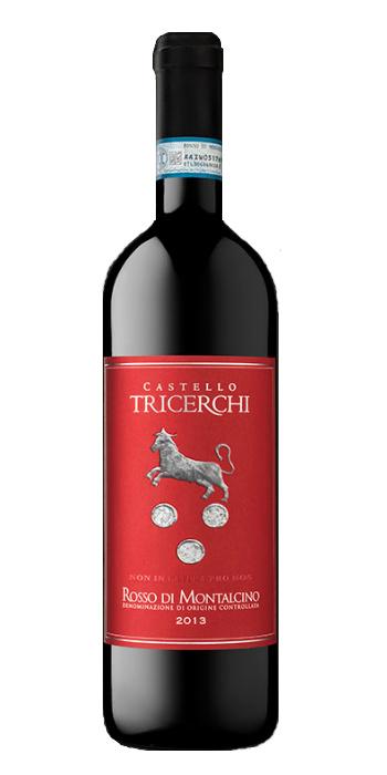 Vendita vini online rosso di montalcino Castello Tricerchi - Wine il vino