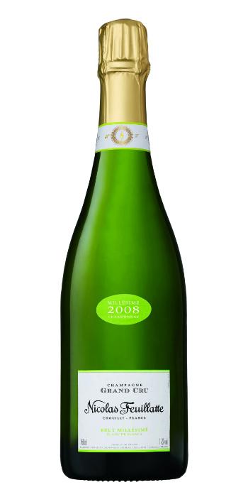 vendita vini on line champagne grand cru chardonnay 2008 feuillatte - Wine il vino