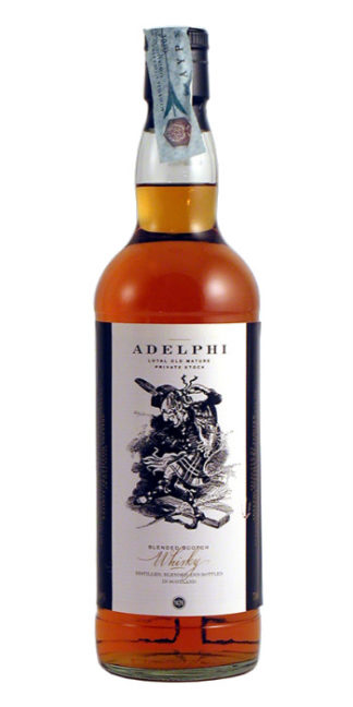 vendita distillati online Scotch Whisky Adelphi private stock blended - Wine il vino