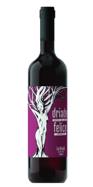 vendita vino on line la Driade Felice merlot le Driadi - Wine il vino