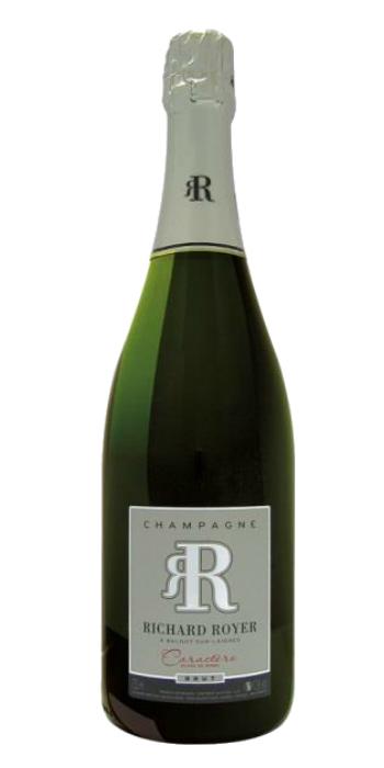 vendita vini online champagne brut caractere richard royer - Wine il vino