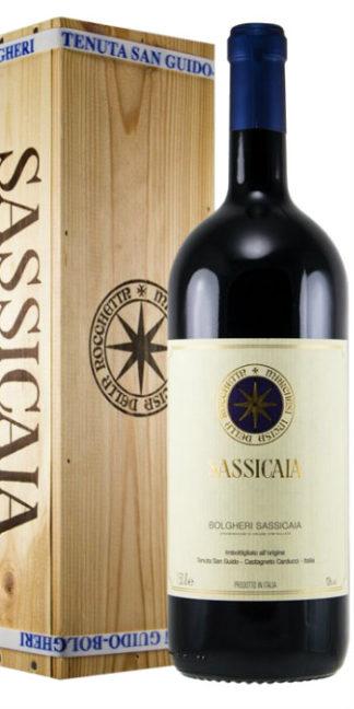vendita vino on line Bolgheri Sassicaia 2010 Doppio Magnum 3 litri Tenuta San Guido - Wine il vino