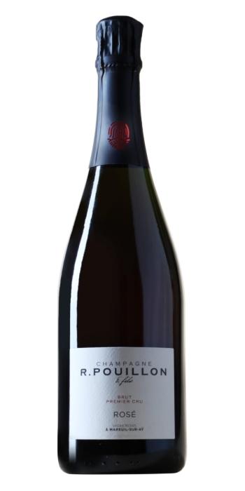 vendita vini on line champagne brut rosé pouillon - Wine il vino