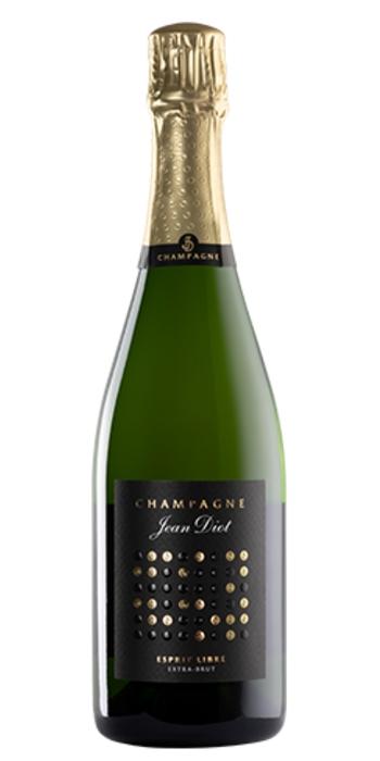 vendita vino on line champagne extra-brut-esprit-libre-jean-diot - Wine il vino