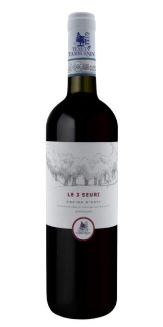 vendita vini on line freisa 3 seuri tenuta tamburnin - Wine il vino