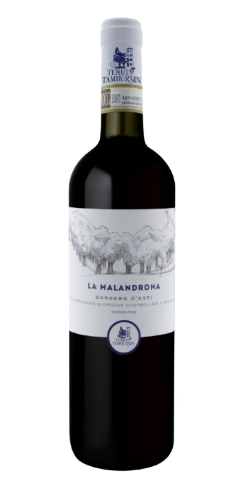 vendita vini on line Barbera d'Asti Superiore La Malandrona Tenuta Tamburnin - Wine il vino