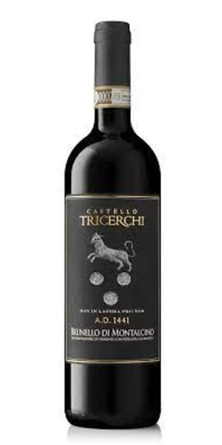vendita vini on line Brunello di Montalcino Anno Domini 1441 2015 Castello Tricerchi - Wine il vino